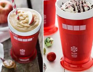 Ice Cream Slush Shake Maker Slushy Milkshake Smoothie Cup Kids Creative New Fruits Juice Cup Fruits Sand Cups Tools GGA3410-7