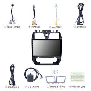 "Seicane Car 10.1"" Carplay HD GPS Navi Stereo Android 9.1 para Geely Emgrand EC7 suporte USB 2012-2013 Touchscreen Bluetooth TPMS carro dvd"