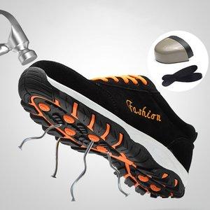 2019 новая мужская обувь на открытом воздухе рабочая защитная обувь дышащие рабочие ботинки мужские кроссовки защитная обувь Мужская обувь плюс размер 37-46
