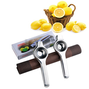 Aço inoxidável DHL limão espremedor de limão manual Juicer resistentes cal Squeezer Anti-corrosivos Manual de limão fresco Ferramentas suco com pacote de varejo