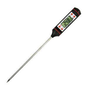 Numérique La cuisson des aliments Sonde viande numérique BBQ sélectionnable Thermomètres capteur Cuisine instantanée température numérique outil 2 couleurs GGA3388-3