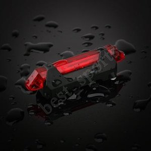 de vélo de vélo de charge USB allume feux arrière LED avertissement lumières de nuit mettant en lumière les feux arrière à cheval accessoires LJJZ667