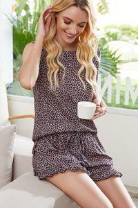 Gratuit pour Dhl Pyjama Tiedye Pour Femmes Conjuntos Cortos De Pijama Con Cuello Redondo Y Pijama bon marché Tie Dye Shirts Beige sqtrimmer UWCWc