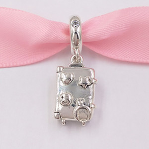 """""""Autêntica prata esterlina 925 Beads Mala de pingente de encanto encantos único estilo europeu jóia de Pandora pulseiras Colar 797887EN160"""""""
