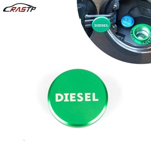 RASTP-Alüminyum Araç Yağ Tankı Kapağı Motor Yağı Yakıt Doldurma Kapağı Kapak İçin Dodge Ram 13-17 RS-CAP013