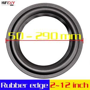 peaker Accessories HIFIDIY LIVE 4-12 inch woofer Speaker Repair Parts Rubber surround edge Folding Ring Subwoofer(100~300mm) 4 5 6.5 7 8 ...