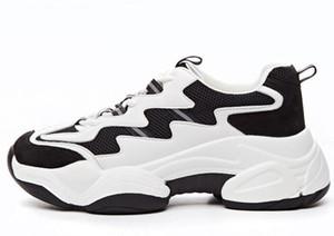 2019 nouvelles chaussures de mode des chaussures de papa soled épais de femmes mélanger et assortir en couleur sport réfléchissants casual chaussures pour femmes gymnase footing formation