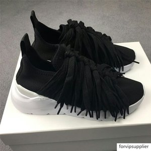 Chunky Plate-forme Sneakers Femme Automne Casual Shoes Old Dad Respirant Chaussures Femme Lumière 2019 Fringe Fashion Lacets chaussures de piste