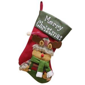 christmas stockings bags santa sacks gift stockin gifts sack tableware sack box decorations for home elf box stuffers