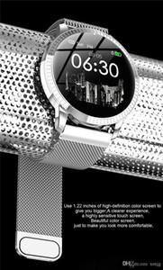 CF18 Smart Watch OLED Schermo a colori Smartwatch Fashion Fitness Tracker Monitor per la frequenza cardiaca Monitor per la pressione arteriosa Orologio da donna