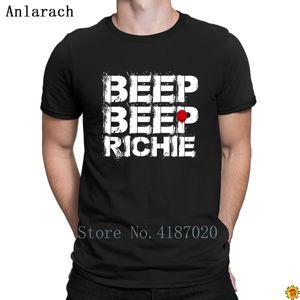 Beep Richie T-Shirts Leisure Quirky Clothing Men's T Shirt Crazy Custom Casual Anlarach 100% Cotton