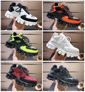 xshfbcl Мужчины progettista Чистка Cloudbust Thunder Knit Sneaker Женщины Повседневная обуви Белый Черный кожаный Mesh Lace-Up Flat Тройной Урожай lussoSho