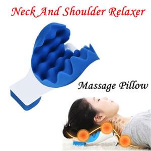 Nacken Schulter Relaxer Nackenschmerzen Relief Hot Pillow Stützkissen Muscle Relaxer Zugvorrichtung Halswirbelsäulenausrichtung