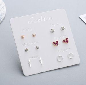 2019 Summer Jewelry Hollow Circle Heart earrings women brand jewelry designer gift for girl friend women