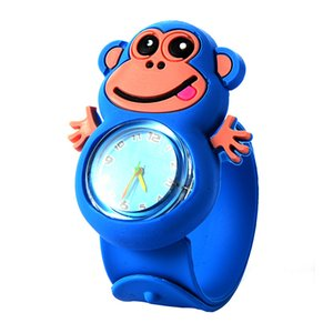 Mix Style Relogio Infantil Cartoon 3D Animal Kids Watches Rubber Quartz Children's Watches for Girls Boys Cute Clock Reloj Relogio Montre