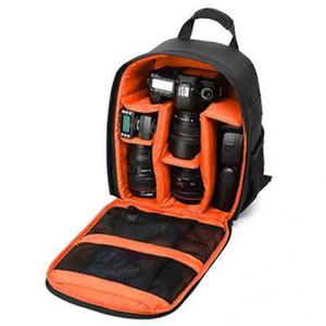 Многофункциональный цифровой камеры DSLR сумка водонепроницаемый фотоаппарат рюкзак Малый SLR видео Рюкзак для фотоаппарата Nikon CanonMultifunctional
