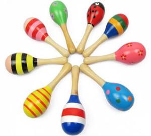 حار بيع طفل لعبة خشبية حشرجة طفل لطيف راتل لعب أورف الآلات الموسيقية ألعاب تعليمية بالجملة