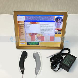 Haute résolution peau Condition diagnostic Système de caméra numérique Soins de la peau Analyzer cheveux Appareil scanner facial Traitement Analyse machine