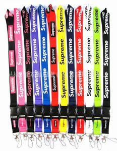 ePacket envío 1pcs los titulares de Supe multicolor Clave cordón para coche deportivo Ropa de tarjetas de identificación del teléfono móvil correas del cuello de porciones