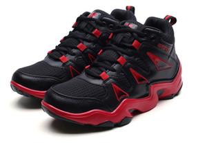 Vente chaude de haute qualité Chaussures pour hommes de sport de chaussures haut-dessus des hommes et des femmes occasionnels hip-hop tendance coréenne chaussures de basket-ball respirant