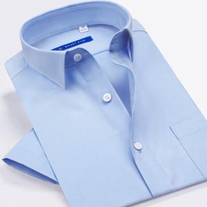 Smart Five Casual Shirt Camisa Social Masculina 100% Cotton Short Sleeve Men Shirts Brand Shirt Whiteslim Fit Shirts Man