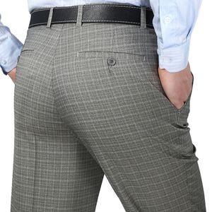 Mu Yuan Yang 2019 Fashion Summer Suit Pants Linen Mens Men's Suits & Blazers Men's Clothing Dress Pants Business Casual Anti Wrinkle Classic
