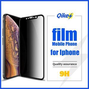 9H Privacy Protector Anti Peeping vidro temperado Película para iPhone X XS Max XR 6 6S 7 8 Plus Anti Glare tela de proteção