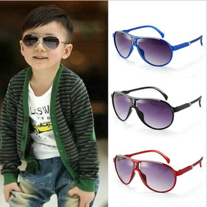 los niños de los niños del verano Sun Glasses niños bloqueador solar de vidrio Niños Gafas de niña de la escuela gafas de sol gafas niñas sunglass