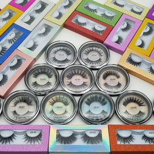 Qualitäts-3D Faux Mink Wimpern OEM / custom / privates Logo Acceptable 3D Silk Protein Lashes 100% Cruelty Free Dramatische falsche Wimpern