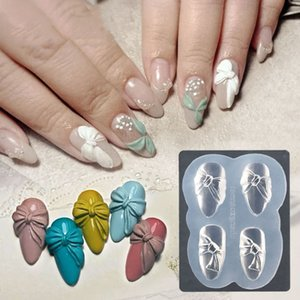 3D Silicone Mold Nail Carving Stamping Stencils Crystal Plate Nail Art Template Uv Gel Polish icure Mould Diy Tools