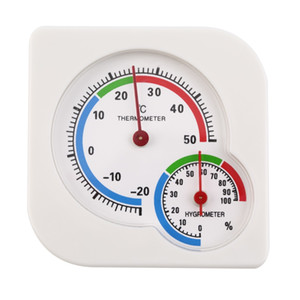 New Arrival Classic Homususse Indoor Outdoor 2 In 1 Mini Wet Hygrometer Thermometer Temperature Mechanical