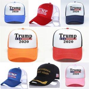 2020 Marque Amérique du Grand Encore une fois Chapeau Donald Trump républicain réglable Mesh Baseballcap # 263