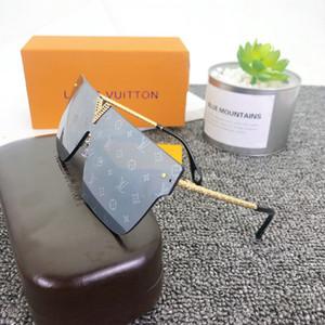 Moda V mujeres grandes del marco 2020 de lujo de los hombres gafas de sol de los diseñadores de los hombres gafas de sol de los hombres de los vidrios de las mujeres Gafas de sol UV400 FD unisex con cuadro