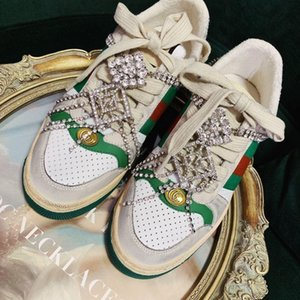 Luxury Designer Fashion Series Famous Brand Shoes Women &#039 ;S Flat Shoes Casual Canvas Fashion Sneakers Embroidered Decorative Shoes