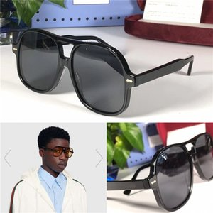 New Fashion Design Woman Sunglasses 0706 Plate Frame Popular Avant-garde Minimalist Style Top Quality UV400 Outdoor Glasses with Box