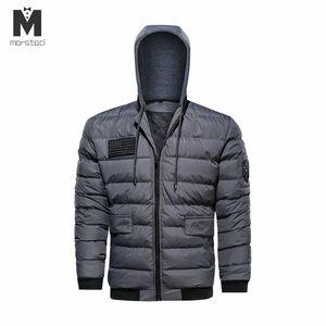 Marstaci M-5XL 새로운 남자 패션 풀 슬리브 턴 다운 칼라 봄 겨울 두꺼운 솔리드 울 혼합 코트 캐주얼 겉옷