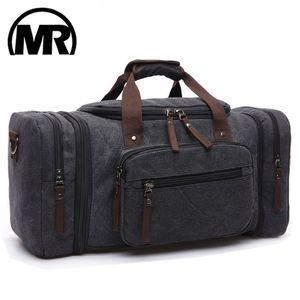 MARKROYAL Холст сумки для путешествий большой вместимости Продолжите Сумки Камера Мужчины вещевой мешок путешествия Tote Weekend Bag Dropshipping