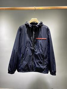 2020 chaquetas para hombre de la calle de lujo rompevientos Nano impermeable a prueba de viento de alta gama sobredimensionado tamaño asiático sudaderas negras Diseño de la tela de doble capa