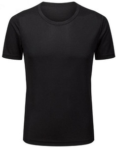 2019 men's tight-fitting fitness clothes running short-sleeved sportswear stretch quick-drying clothes T-shirt