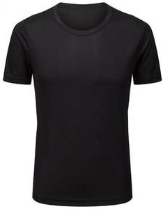 ropa de la aptitud de Ajuste a 2019 de los hombres que ejecutan ropa deportiva tramo de manga corta de secado rápido camiseta