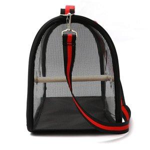Прозрачный Pet Parrot рюкзак для переноски Клетки Открытого Путешествие Удобной Foldrable дышащего Carrier Backbag Другого Bird Supplies