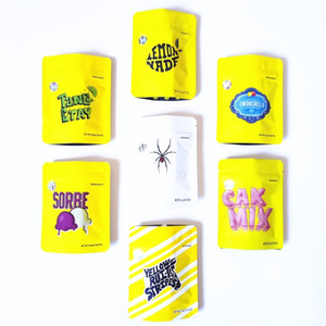 홀로그램 스티커 DHL 무료 뉴 쿠키 캘리포니아 SF 3.5G 꽃 가방 Lemonchello 블랑코 Lemonnade 쿠키 마일 라 Childproof 가방 8