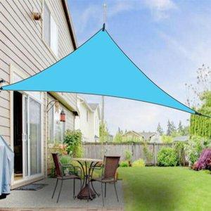 Outdoor-Shade-Dreieck Canopy 4 * 4 * 4m Sonnenschutz Vordach Einfach Shade Regen Persenning