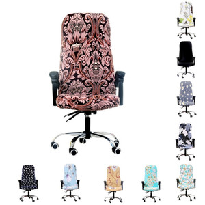 غطاء غطاء غطاء غطاء لوح كراسي Lycra Chair Stret Case To Fit Office Chairs Home Decor T8190617