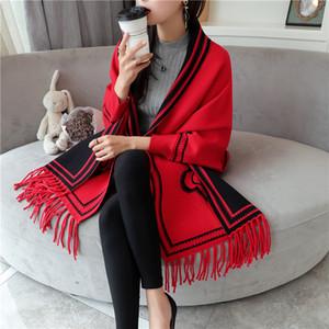 Lady listrado Tassel Xaile 29 design de alta qualidade camisola de malha Cardigan Mulheres Luxury Designer Scarf Plaid Jacket Casaco de maternidade Sweaters 06