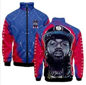 Yeni Kapüşonlu Sweatshirt Erkek Kadın Streetwear Uzun Kollu Hoody Hip Hop NIPSEY HUSSLE Hoodie