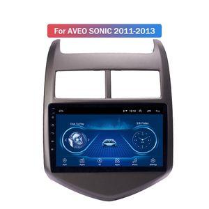 9 بوصة الروبوت 10 سيارة لاعب دي في دي لشفروليه أفيو SONIC 2011-2013 GPS راديو الملاحة