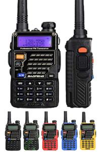 DHL Ship BaoFeng UV-5R Walkie Talkie Professional CB Radio Baofeng UV5R Transceiver 128CH 5W VHF&UHF Handheld UV 5R For Hunting Radio