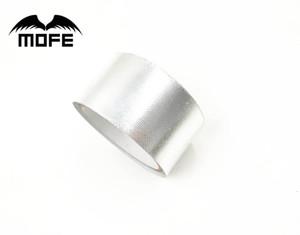 """MOFE سباق المبرد كمية الأنابيب التفاف 2 """"الدرع الواقي من الحرارة مقاومة الأغطية الألياف الزجاجية عزل حراري ProtectionTape الفضة"""