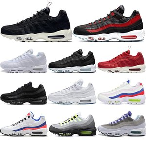 Nike air max 90 Mit kostenlosen Socken neue Mode OG Kissen Navy Pull Tab rot Neon Sport hochwertige Chaussure Männer Walking Laufschuhe Kissen Turnschuhe 40-45